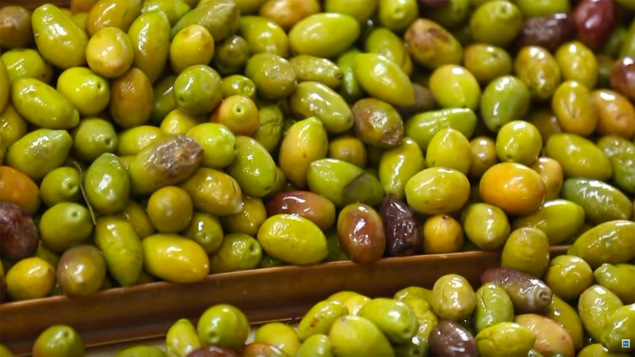 Preserved Olives & Olive Oil